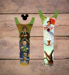 Disney Magic Band 2 Decal Stickers Skin Haunted Mansion Tightrope