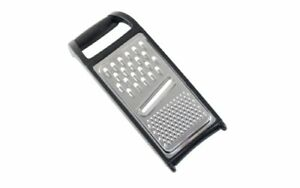 Good Cook 10-Inch Chrome Universal Flat Grater,Colors may vary