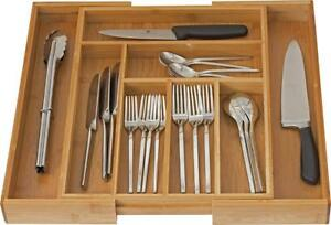 Home-it Expandable Cutlery Drawer Use for Utensil Organizer Flatware...