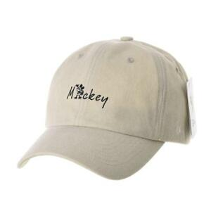 WITHMOONS Disney Mickey Mouse Baseball Cap Embroidery Cotton Hat CR1673