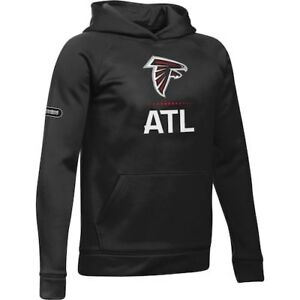 Atlanta Falcons Under Armour Youth Combine Authentic Lockup Armour Hoodie -