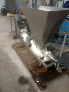 MOYNO FAA IFFJ6SSE  PROGRESSIVE CAVITY PUMP W SCREW FEEDER 2hp