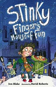 Stinky Finger#x27;s House of Fun by Blake Jon Paperback Book The Fast Free Shipping