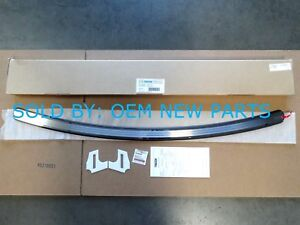 Mazda CX-5 Rear Black Stainless Steel Bumper Step Plate 2013 2014 2015 2016 NEW