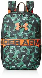 Under Armour Unisex Kids' Change-Up Backpack Aegean Green (707)Neon Coral One