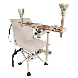 Caldwell DeadShot ChairPod Adjustable Ambidextrous Rifle Shooting Rest for...