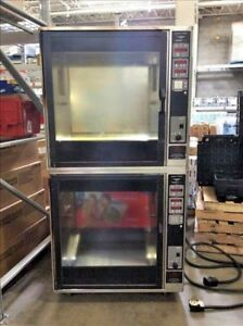 HENNY PENNY SCR-8 Double Stack Electric Rotisserie Chicken Meat Baking Oven #2