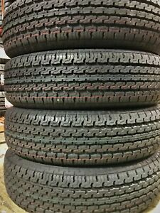 4 New Premium Cargo Max ST22575R15 E 10 Ply Steel Belted Radial Trailer Tires