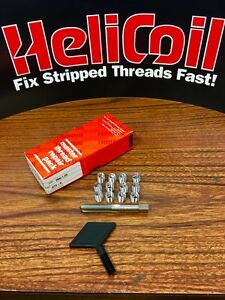 Thread Repair Kit 5 16 18 With 12 Stainless Steel Inserts Made in USA Steel