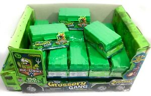 The GROSSERY GANG +Display Box 21 Blind Ammo Crate Boxes w2 Grosseries Mini Fig