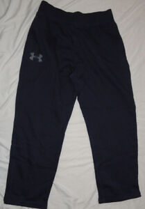 NEW! UNDER ARMOUR Cold Gear Fitted Tapered Sweat Pants Mens Big 4X 4XL Black NWT