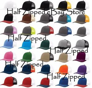 200 Richardson Trucker Snapback Cap 112 Baseball Hat 80 Colors!!!