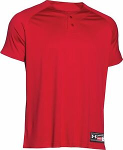 Under Armour Youth Stock Classic Henley Baseball Jersey