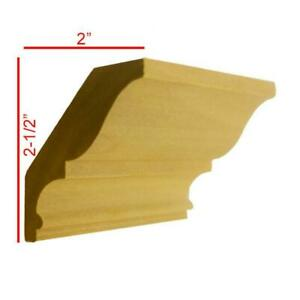 Crown Molding 3 4quot; x 3 3 16quot; Unfinished Solid Hardwood EWCR17 $26.96