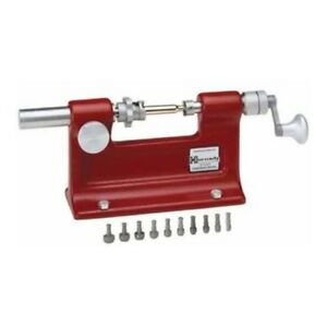 Portable Cam Lock Case Trimmer Gunsmithing Tools Precision Steel Red Cal Kit