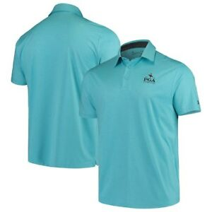 2019 PGA Championship Under Armour Playoff Heather Polo - Teal