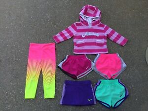 Toddler Girls Nike Adidas Lot Running Shorts Dri-Fit Leggings Hoodie 24 M 2T 3T