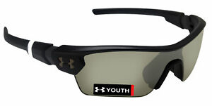 Under Armour 8600095-010933 menace youth black charcoal game day chrome lens