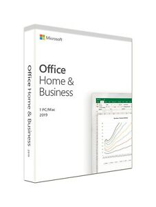 Microsoft Software T5D-03203 Office 2019 HomeBusiness English