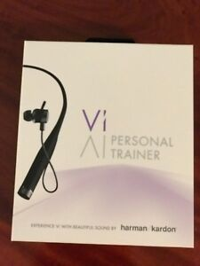 Vi Artificial Intelligence Sports Headphones w Heart Rate Sensor and Trainer