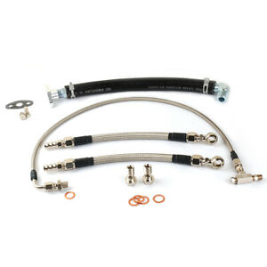 Universal Oil  Water Line Kit For EFR 6255 6258 6758 7067 Ceramic Ball Bearing