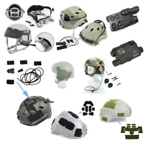 Tactical Fast Helmet Accessory Headset  Adapter  Helmet Loop Battery Case Box