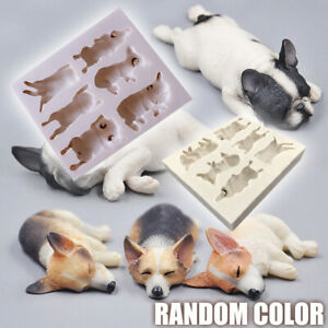 Cat Dog Silicone Fondant Mould Cake Decorating Chocolate Sugarcraft  Baking Mold