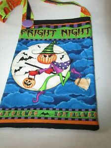Halloween Trick Or Treat Bags - Handmade - One-of-a-kind