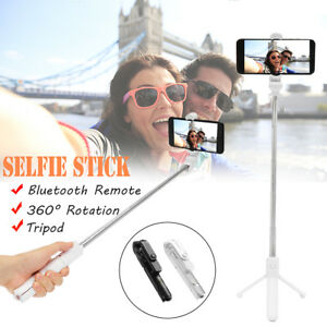 Extendable Selfie Stick+bluetooth Remote Shutter+Tripod Mount for iPhone X 8 8+