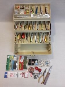 Plano Tackle Box Full Of Fishing Lures