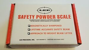 90681 LEE SAFETY POWDER SCALE - BRAND NEW - FREE SHIP