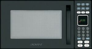 Advent MW912B Built-In Microwave Oven, Specially Built for RV, 900 W, Black