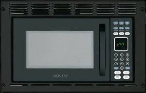Advent MW912BWDK Built-in Microwave Oven, Specially Built for RV, 900 W, Black