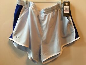 Under Armour Womens Fly-By Shorts Oxford BlueReflective XXL 2X