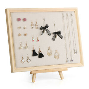 Necklace Display Stand Jewelry Storage necklaces bracelets earrings earrings...