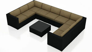 Orren Ellis Azariah 10 Piece Surround Sectional Set with Cushions
