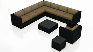 Orren Ellis Azariah 10 Piece Sectional Set with Cushions