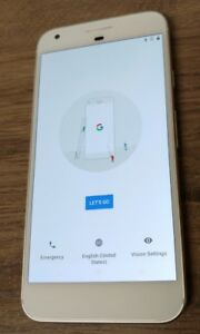 Google Pixel XL 32GB Silver (Unlocked) visible burn image used good verizon at
