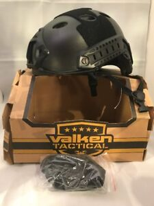 New Valken Tactical ATH Airsoft Paintball Scenario Helmet - ATH. Black