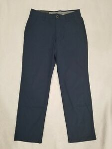 NEW UA Under Armour Golf Navy Golf Straight Pants New with Tags Mens Sz 40 x 32