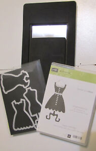 Stampin Up All Dressed Up Set + Dress Up Framelits & Pop 'n Cuts Dress Form Die