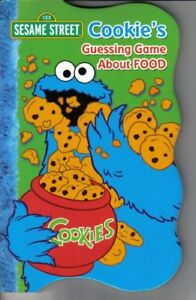 B000NMMAMQ Sesame Street Collection Set of 4 Books (Cookies Guessing Game Abou