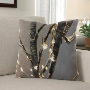 The Holiday Aisle Planas Christmas IndoorOutdoor Canvas Throw Pillow