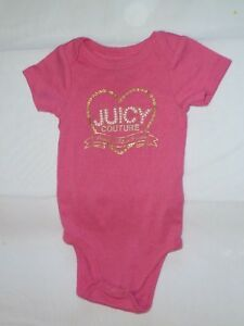 JUICY COUTURE & UNDER ARMOUR BABY GIRL BODYSUITS CLOTHES OUTIFT 0 3 REBORN DOLL $17.99