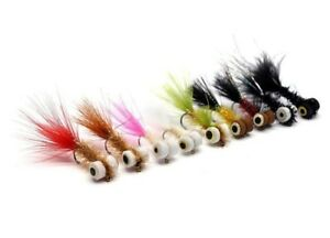 Wet Dry Nymph Set Fly Lure Kit Boobies Flies For Big Rainbows Brown Trout Salmon