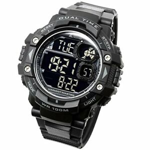 LAD WEATHER Powerful Military Watch - StopwatchCamouflage PatternOutdoor Sport