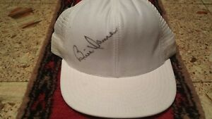 NICE OLDER SNAP BACK CAP SIGNED BY BILL DANCE