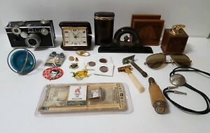 Lot of Antiques And Vintage Drawer Content Miscellaneous