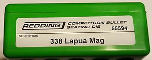 55594 REDDING COMPETITION SEATING DIE - 338 LAPUA MAG - NEW - FREE SHIP