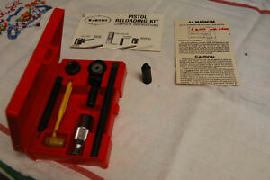 Lee Loader .44 Magnum .44 Mag Reloading Kit Dies
